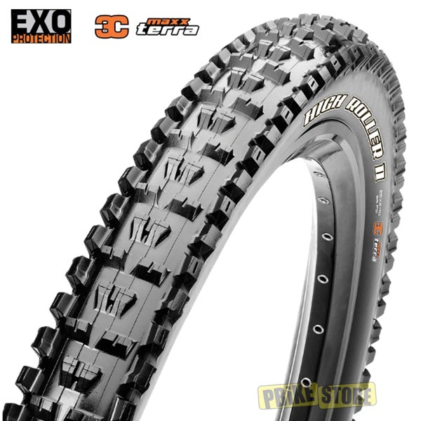 maxxis high roller ii 27.5x2.40 3c maxx terra exo tb85915500