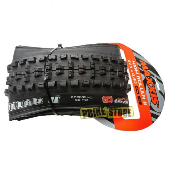 maxxis high roller ii 27.5x2.40 exo 3c maxx terra tb85915500