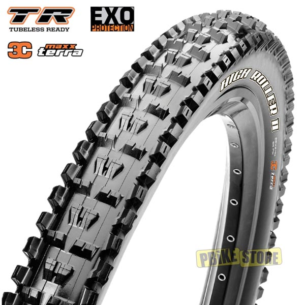 copertone maxxis high roller ii 27.5x2.30 3c maxx terra exo tr tb85923100