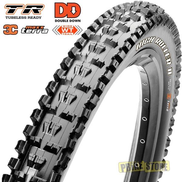 maxxis high roller ii dd 27.5x2.50 wt 3c maxx terra tr TB85983100