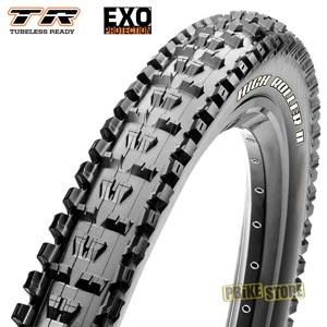 maxxis high roller ii 27.5x2.60 wt exo tr