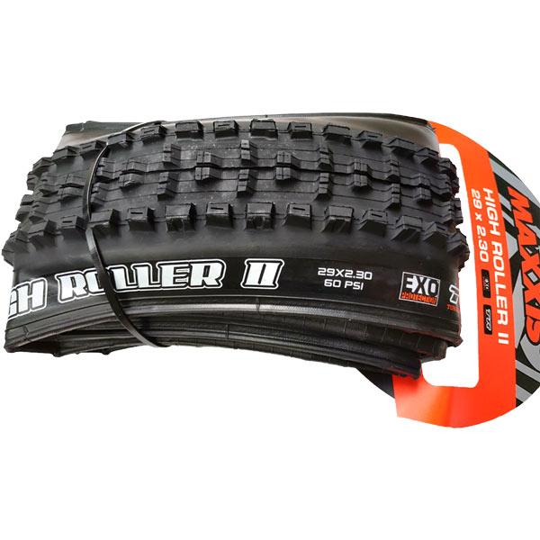 maxxis high roller ii 29x2.30 exo tubeless ready tb96769000