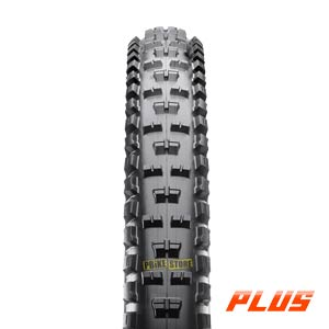Maxxis High Roller II PLUS 27.5x2.80 Tubeless Ready 3C EXO vista frontale