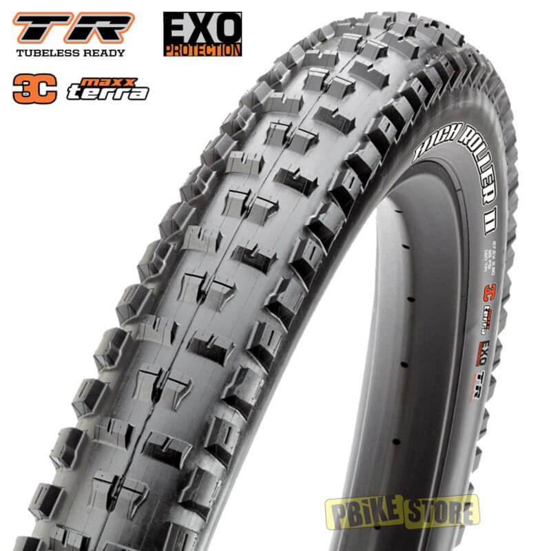 Maxxis High Roller II PLUS 27.5x2.80 Tubeless Ready 3C EXO TB96910000