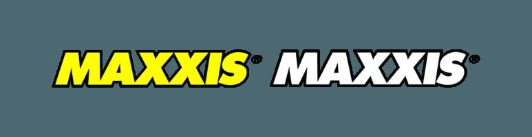 maxxis logo giallo e bianco
