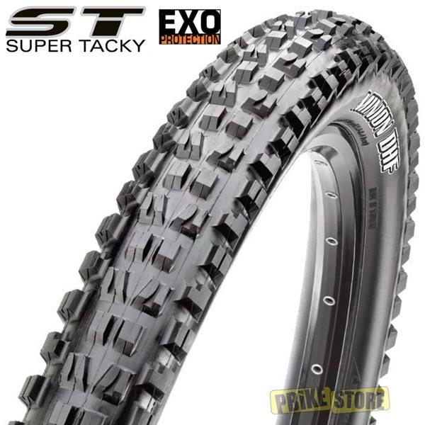 maxxis minion dhf super tacky 26x2.50 exo protection tb74267400