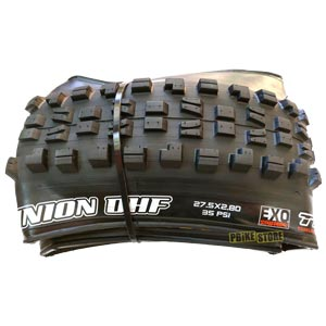 maxxis minion dhf plus 27.5x2.80 tubeless ready dual exo tb96908100