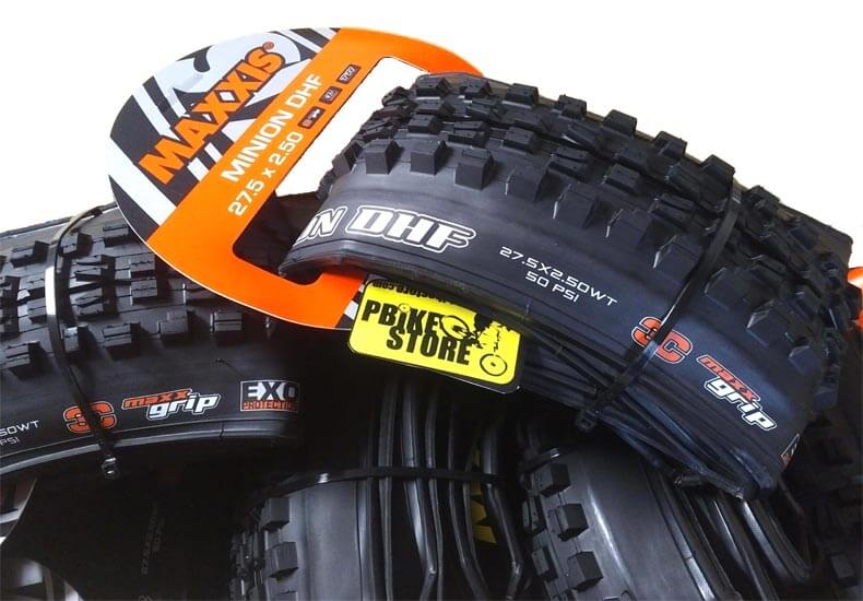 maxxis minion dhf tubeless ready