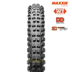 maxxis minion dhf 27.5x2.50 wt dd 3c maxx grip vista frontale