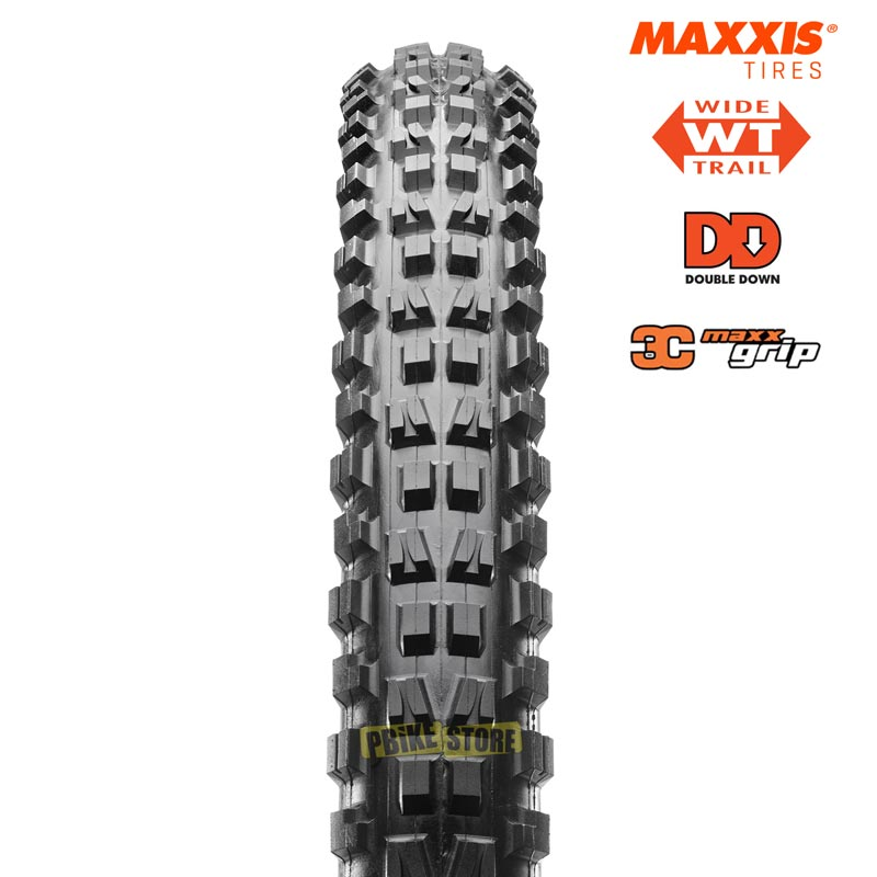 MAXXIS Minion DHF WT DD 3c copertone mtb, vista frontale
