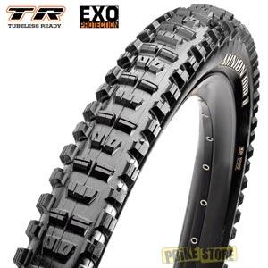 maxxis minion dhr ii 26x2.30 tubeless ready dual exo tb73303000