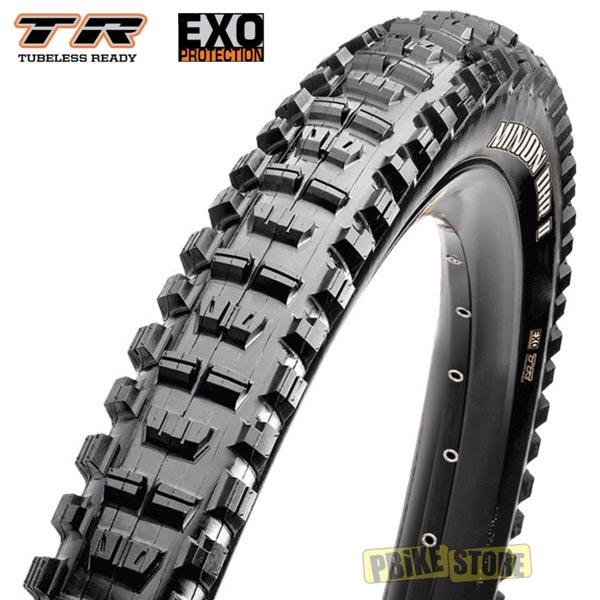 maxxis minion dhr ii 29x2.30 tubeless ready dual exo tb96776000