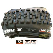 maxxis minion dhr 2 plus 27.5x2.80 tubeless ready dual exo tb96909100
