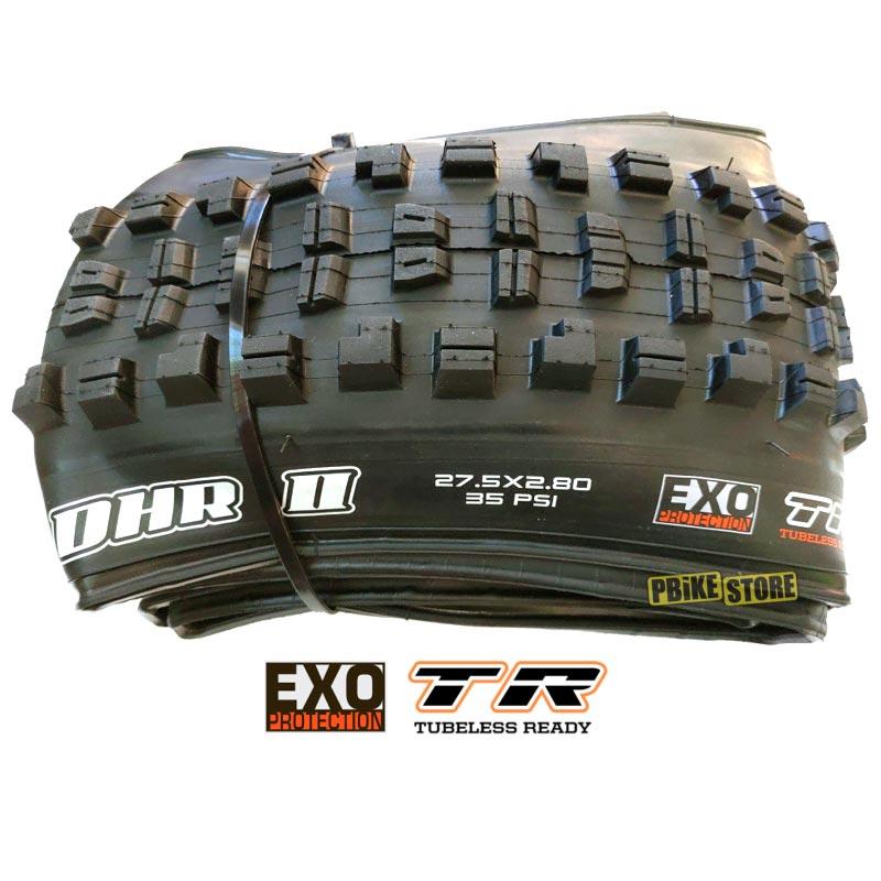 copertone Maxxis MINION DHR 2 PLUS 27.5x2.80 Tubeless Ready DUAL EXO TB96909100