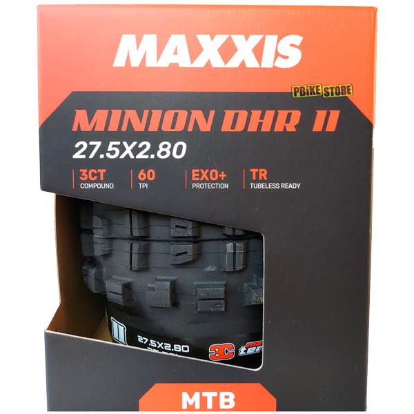maxxis minion dhr ii plus 3c maxx terra 27.5 con borsa