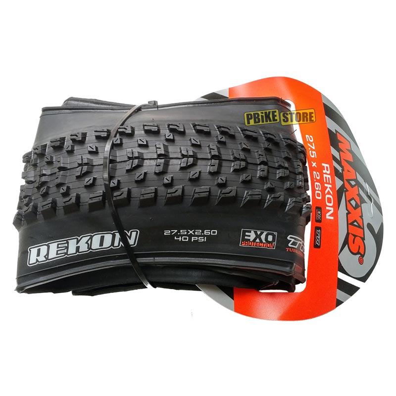 maxxis rekon 27.5x2.60 wt exo tubeless ready dual tb91145300