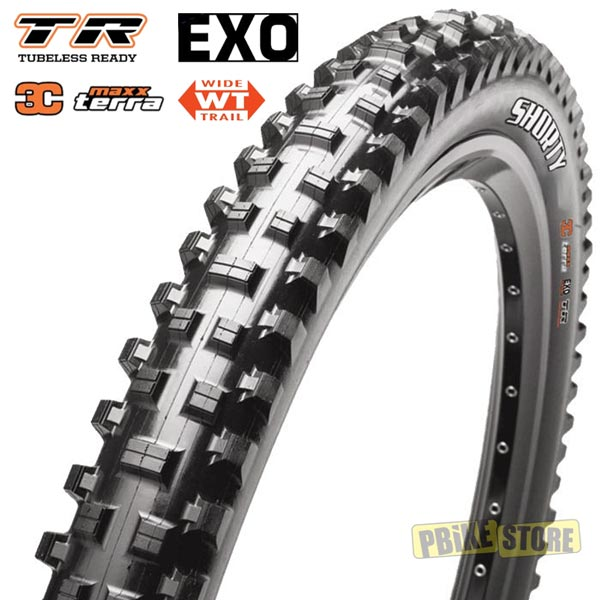 maxxis shorty 27.5x2.50 wt tubeless ready 3c exo tb85979000