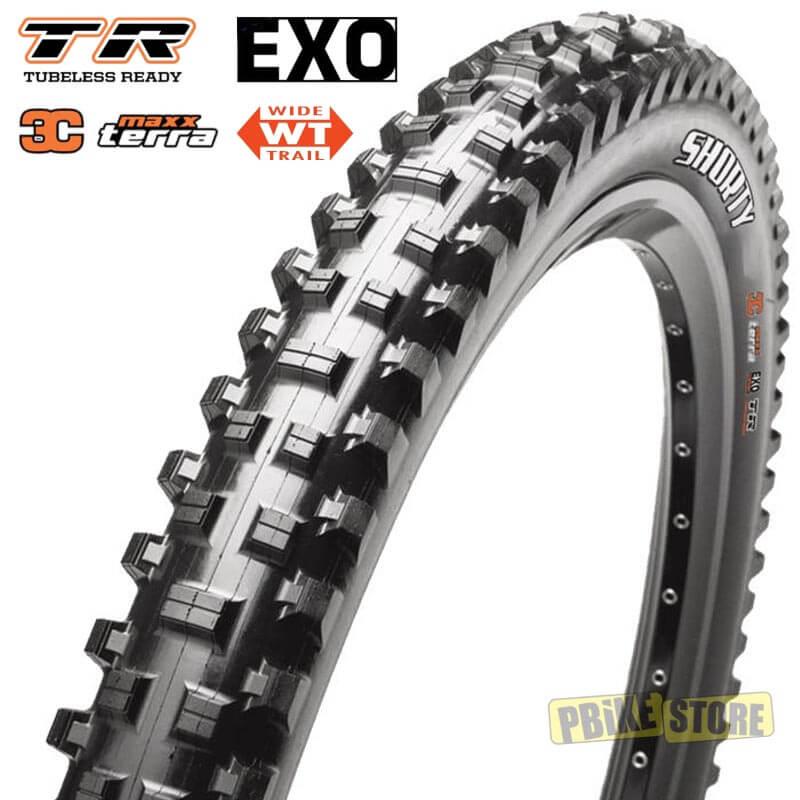 Maxxis SHORTY 27.5x2.50 Tubeless Ready 3C EXO