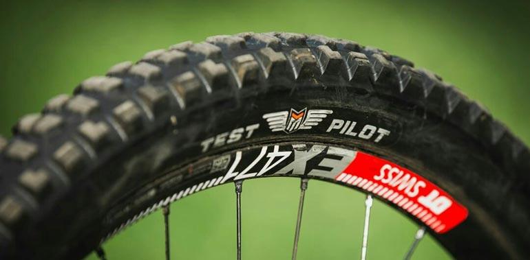 Prototipi copertoni Maxxis MTB: TEST PILOT