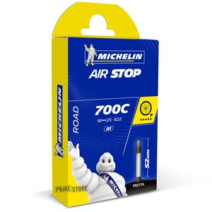 Michelin Camera Strada Airstop A1 700x18-25 Presta 52mm