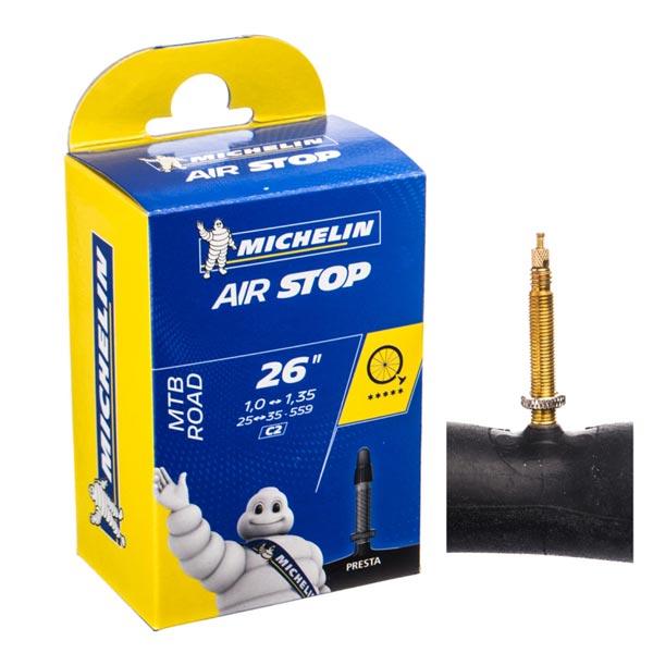 Michelin Camera Trekking Airstop C2 26X1.10-1.50 Presta 40mm