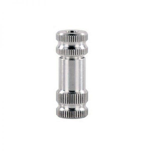 Mini erogatore per bombolette CO2 in alluminio