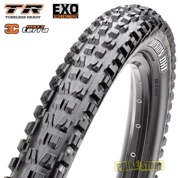 maxxis minion dhf 27.5x2.60 wt 3c maxx terra exo tubeless ready tb91146300