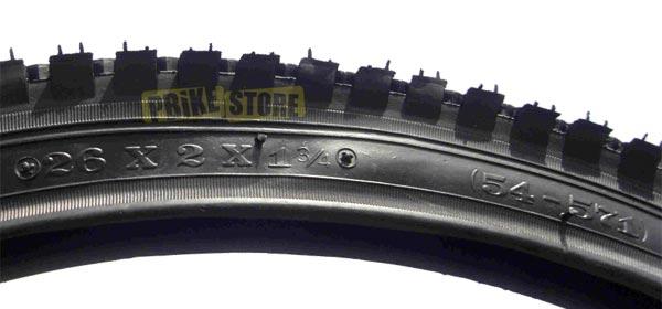 misure copertoni bici standard frazionario