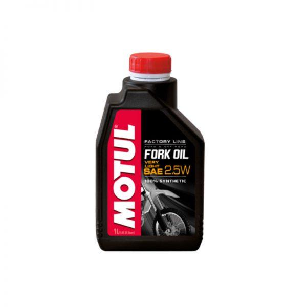 MOTUL olio per forcelle 2.5w factory line very light 1 LITRO