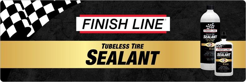 nuovo finish line fiberlink liquido sigillante che non si asciuga mai