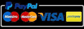 Pbikestore pagamenti con visa, mastercard, maestro, postepay e paypal