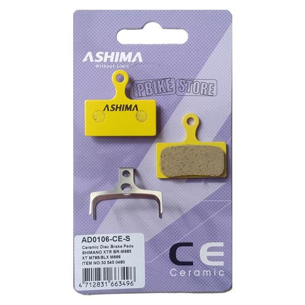 Pastiglie Ashima Ceramica Shimano XTR / XT / SLX / Alfine 2011