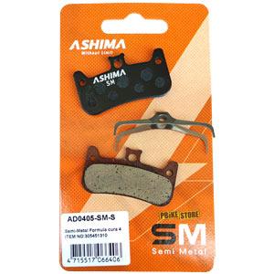 Pastiglie Ashima Semimetalliche freni Formula Cura 4