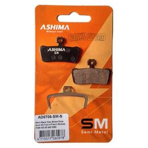 pastiglie ashima semimetalliche sram guide rsc, rs, r ad0706-sm-s