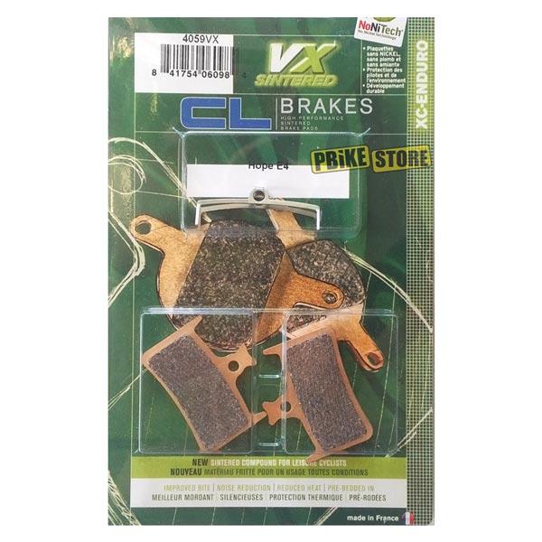 pastiglie cl brakes hope tech 3-e4 sinterizzate 4059vx