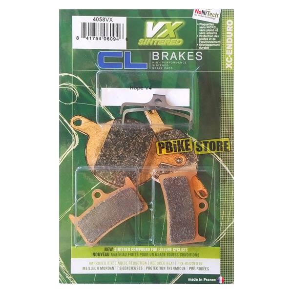 Pastiglie CL Brakes Hope Tech 3 V4 Sinterizzate 4058vx