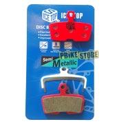 icestop pastiglie semimetalliche sram code r, rsc / sram guide re