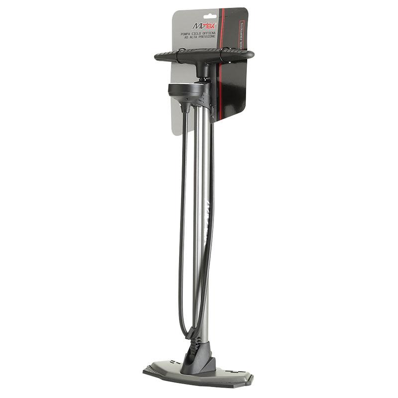 Pompa da officina DOUBLE con manometro alta pressione 11 Bar