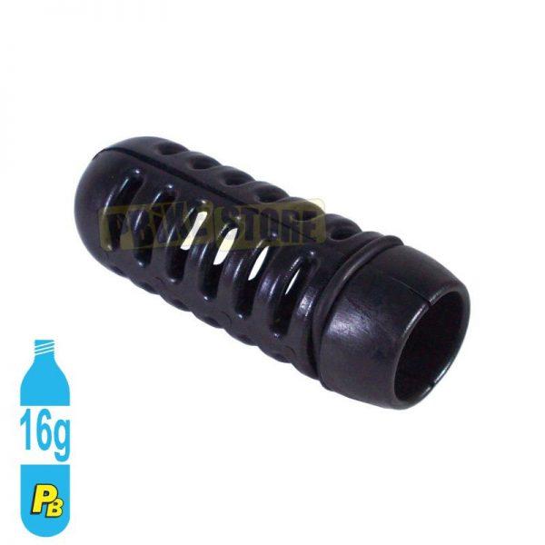 Protezione in plastica per bombolette CO2 da 16 grammi