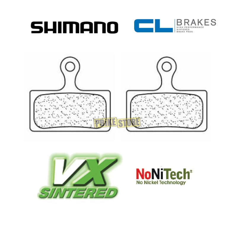 Shimano XTR Trail, XT pastiglie freno CL-Brakes VX sinterizzate