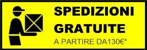 spedizione gratuita con corriere brt-bartolini