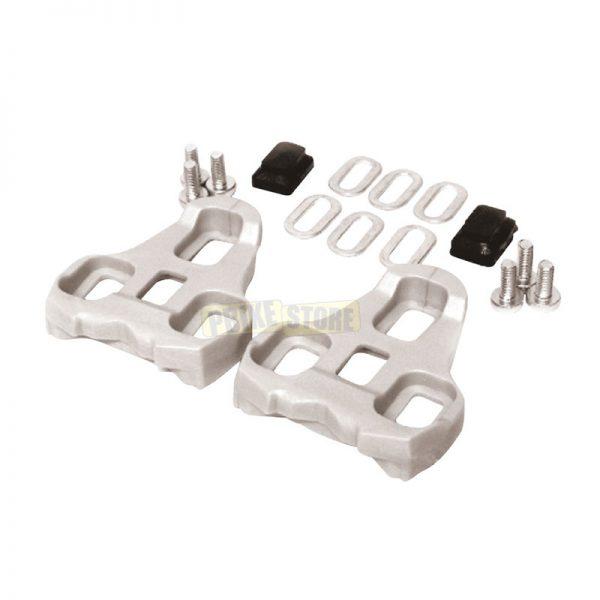 Tacchette Look Keo Compatibili 4.5° Grigie