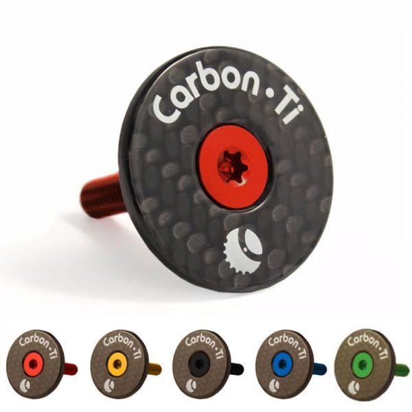Tappo serie sterzo Carbon-Ti X-Cap Carbon