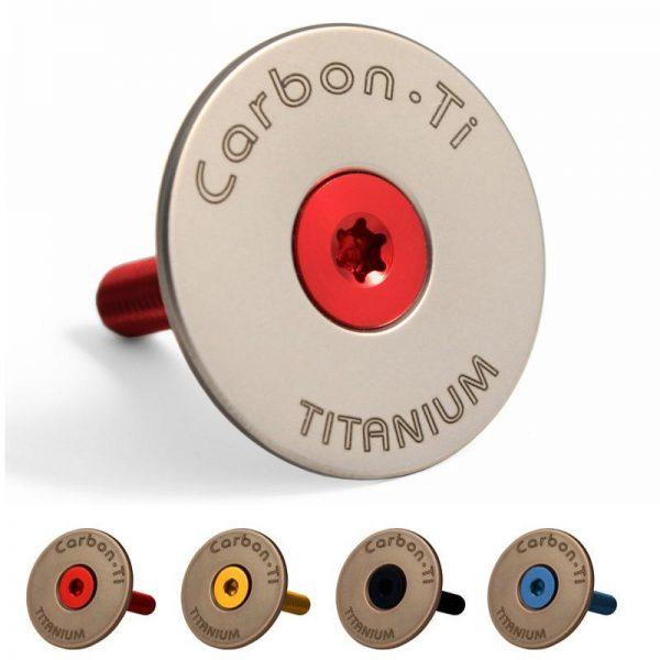 Tappo serie sterzo Carbon-Ti X-Cap Titanium