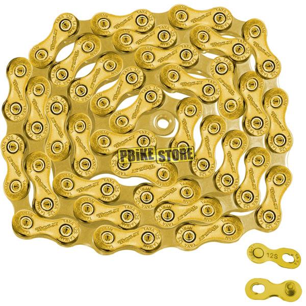 taya tolv-121 ti gold catena 12 velocità sram eagle
