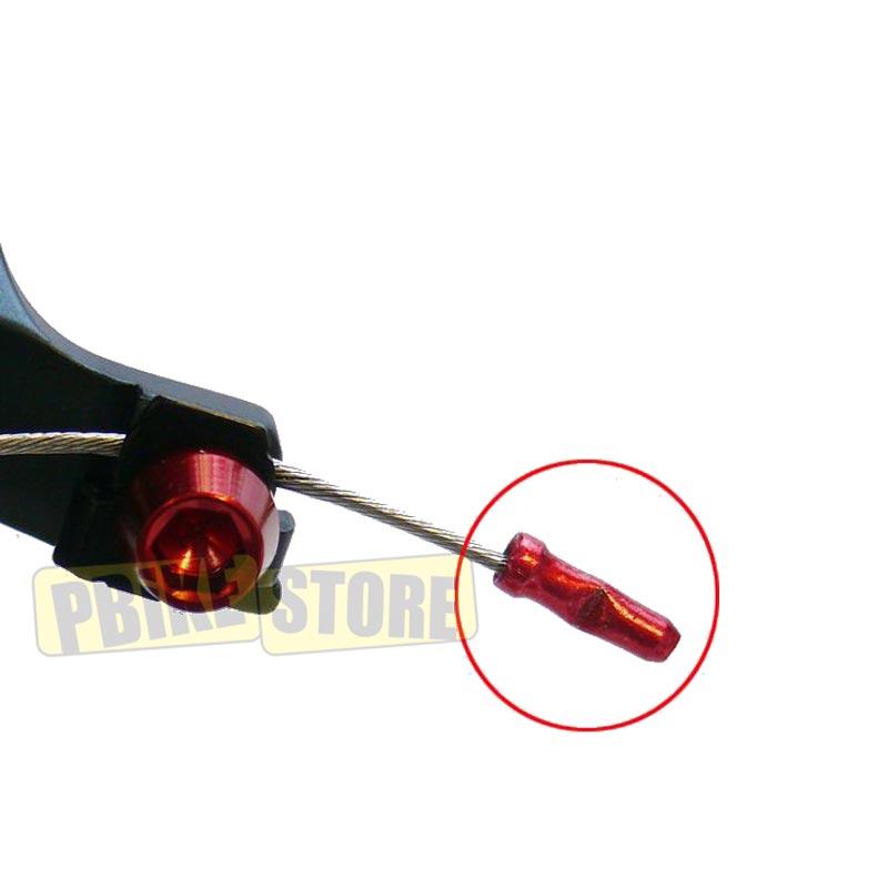 Jagwire Terminali cavo freni e cambio bicicletta, dettaglio