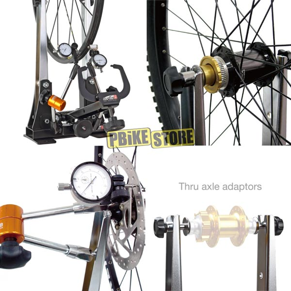 utilizzo del centraruote per mtb e bici da strada superb tb-pf36
