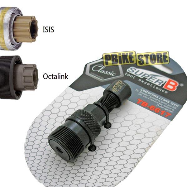 utilizzo estrattore pedivella isis e shimano octalink - superb Tb-6617