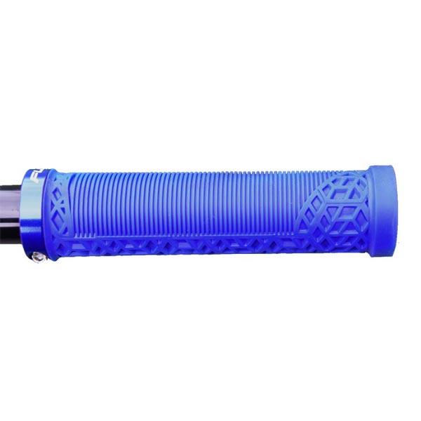 utilizzo manopole mtb funn hilt blu con lock-on singolo