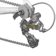 utilizzo reggicatena TB-CH10 per MTB e Bici da corsa